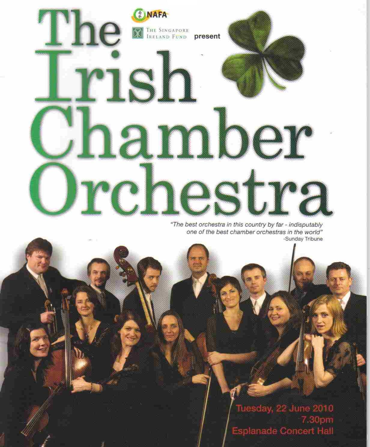pianomania: IRISH CHAMBER ORCHESTRA / Review