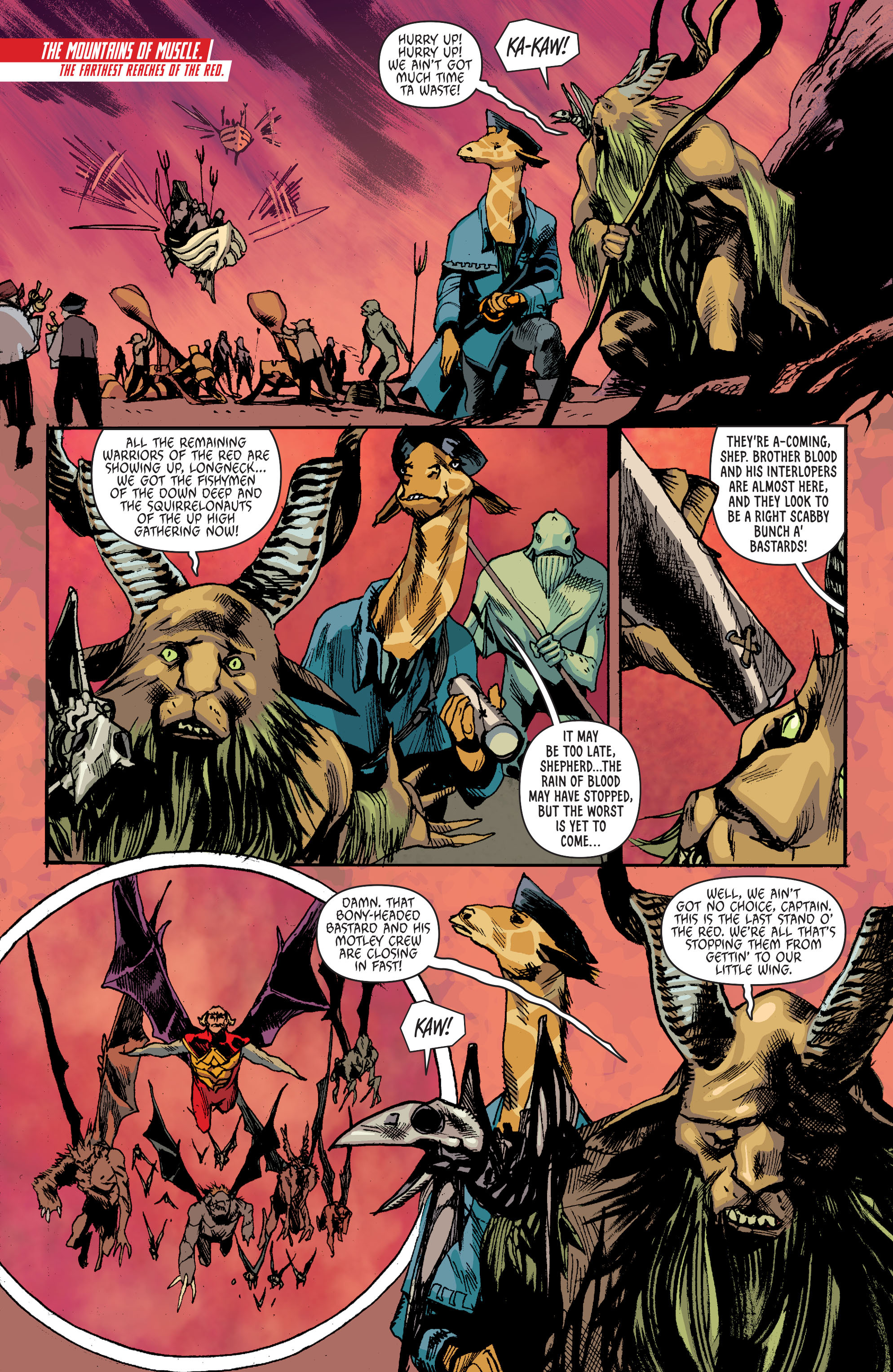 Read online Animal Man (2011) comic -  Issue #27 - 6