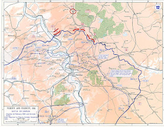 Batalla De Verdun Mapa.La Gran Guerra 1914 1918 Mapa De La Batalla De Verdun 1