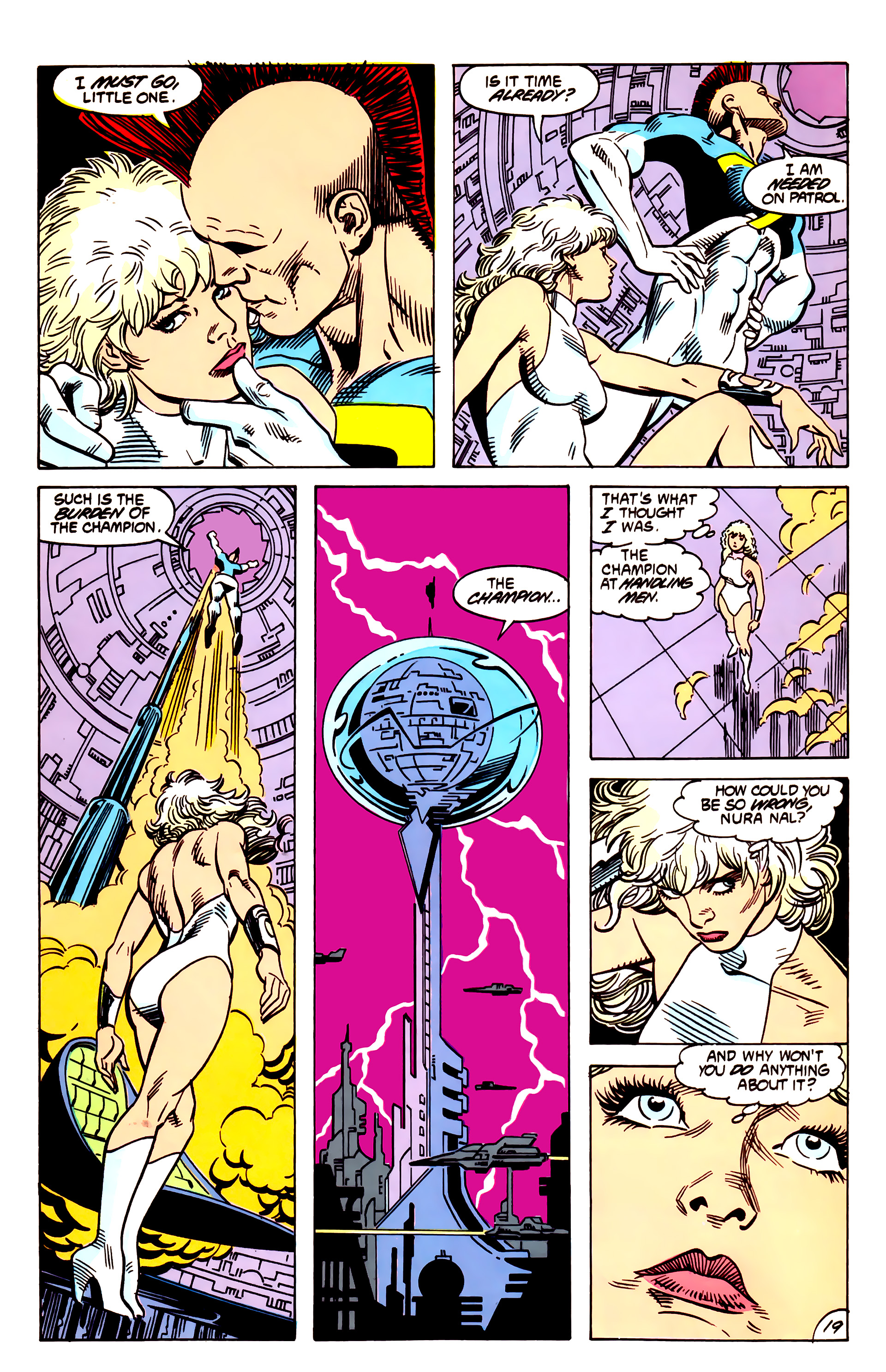 Legion of Super-Heroes (1984) 55 Page 19