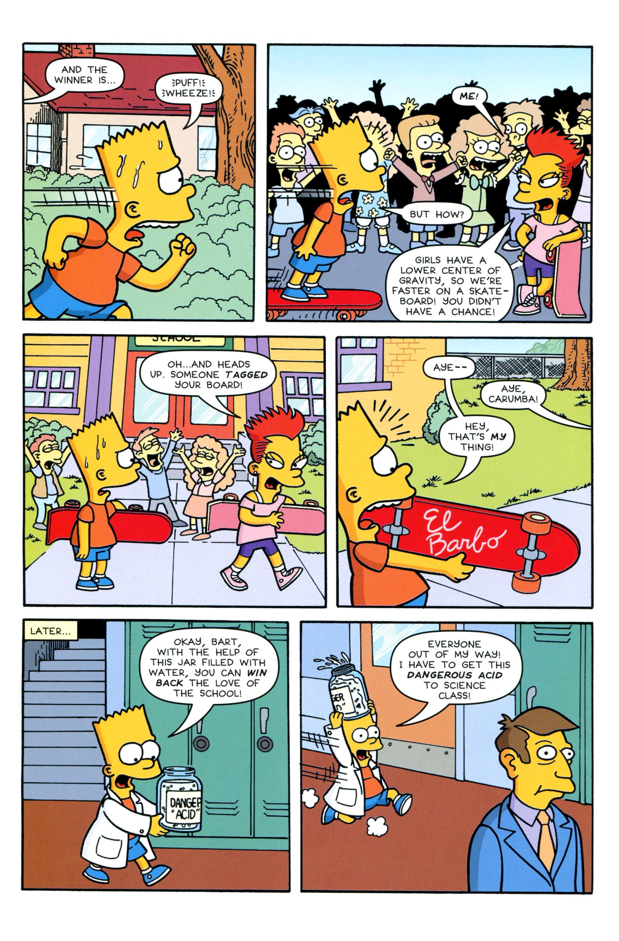 Read online Simpsons Comics Presents Bart Simpson comic -  Issue #90 - 18
