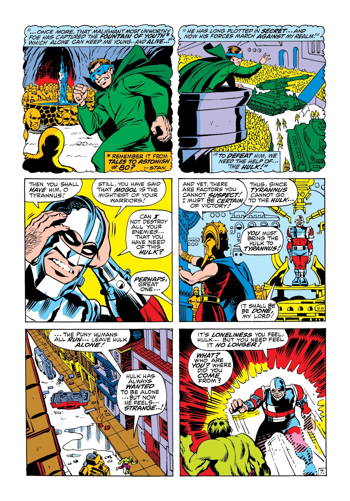 Read online Marvel Masterworks: The Incredible Hulk comic -  Issue # TPB 6 (Part 2) - 21