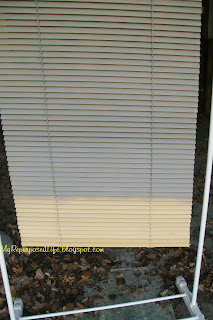 How To Paint Mini Blinds My Repurposed Life