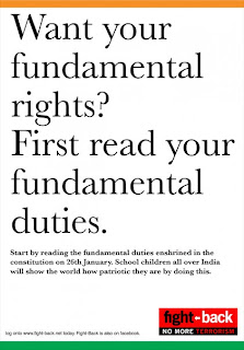 write a short note on fundamental rights and duties of a citizen