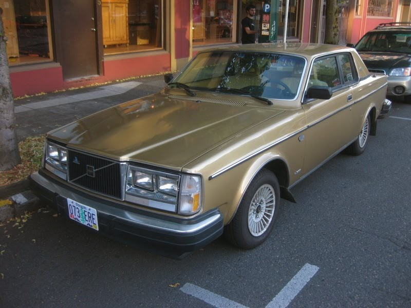 Old Parked Cars 1980 Volvo Bertone 262 C