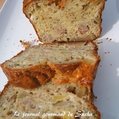 Recette Cake Thon Poivron Olives