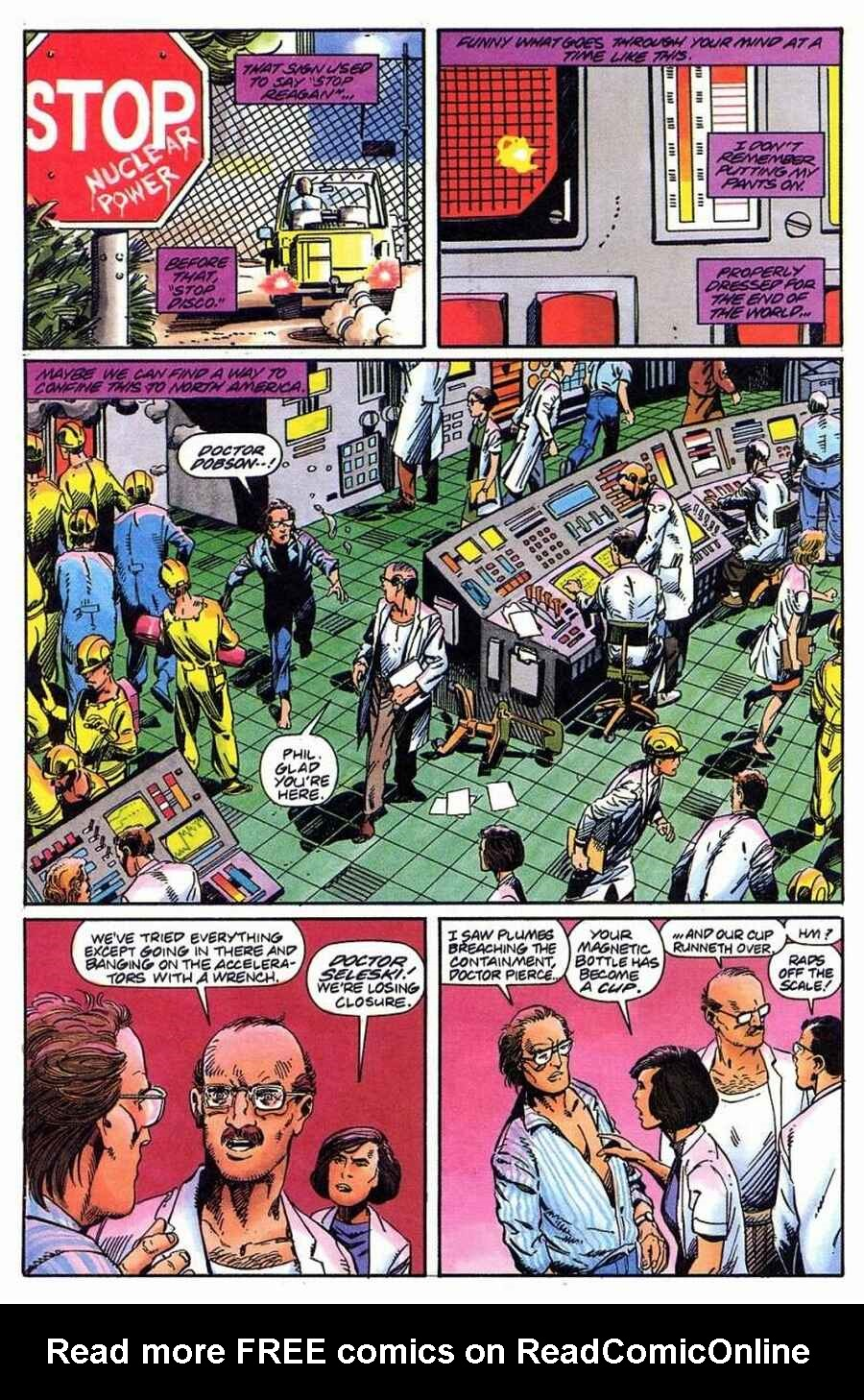 Read online Solar, Man of the Atom comic -  Issue #1 - 20