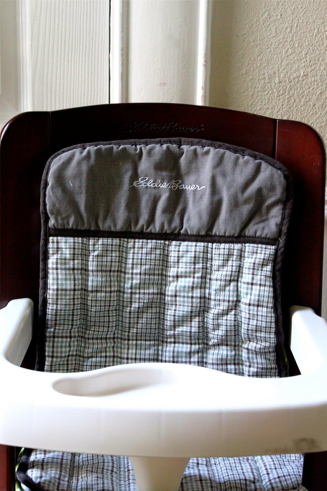eddie bauer high chair cover pattern zero gravity massage smile and wave presto chango new highchair