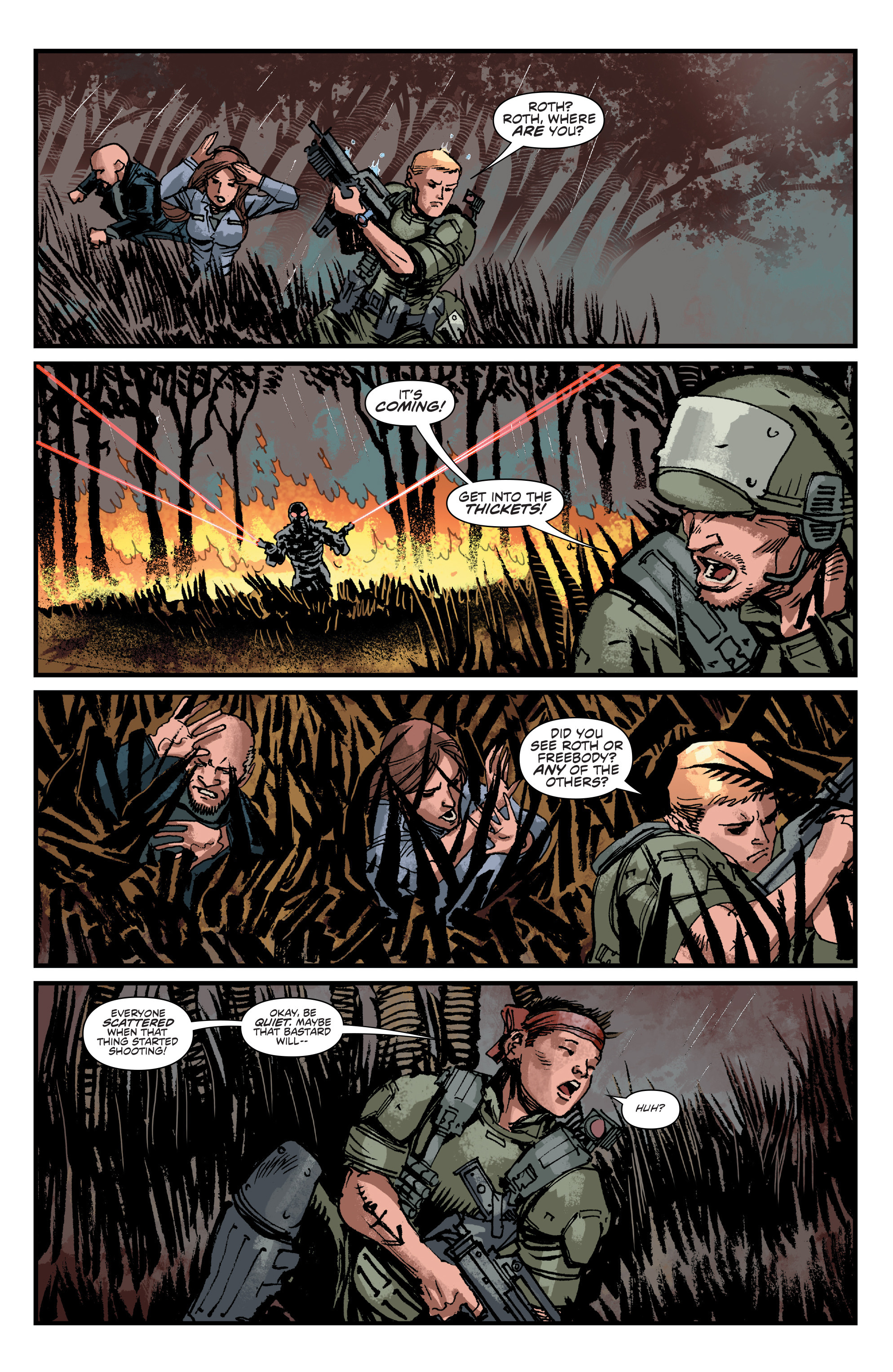 Read online Aliens: Life And Death comic -  Issue #4 - 7