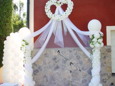 Decoracion con globos para boda - Decoracion de globos para bodas ...