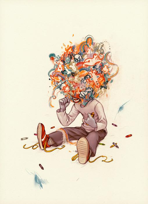 Illustration 5 Illustrator Research: James Jean