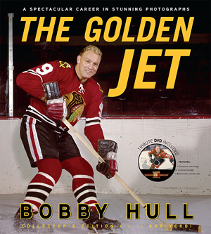 Hockey Book Reviews Com The Golden Jet By Bobby Hull With border=