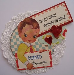 Dolly Dingle Valentines Swap