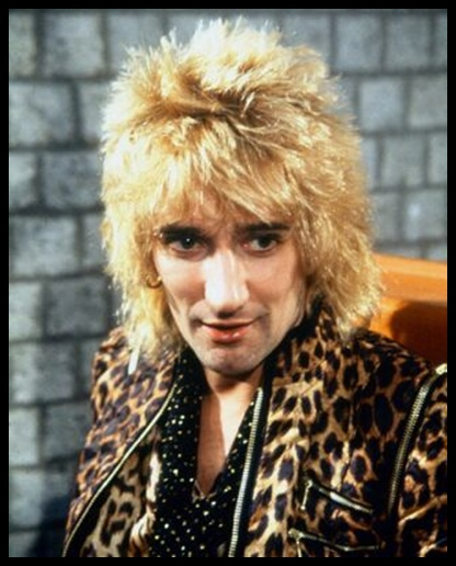70s Artist Watch Rod Stewart