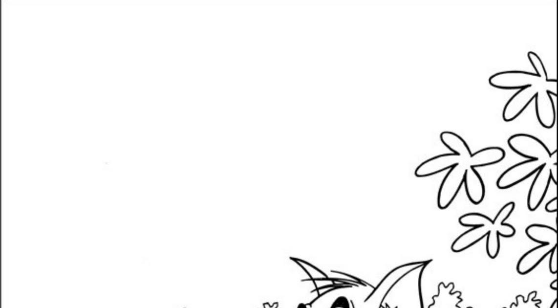 Desenhos Para Colorir: Tom E Jerry 9 Desenhos Para Colorir