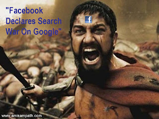 facebook search war against google