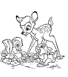 Desenho Do Bambi Para Colorir Saber Mais
