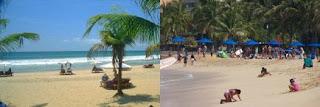 Pantai Kuta Bali dengan Pantai Waikiki Hawaii