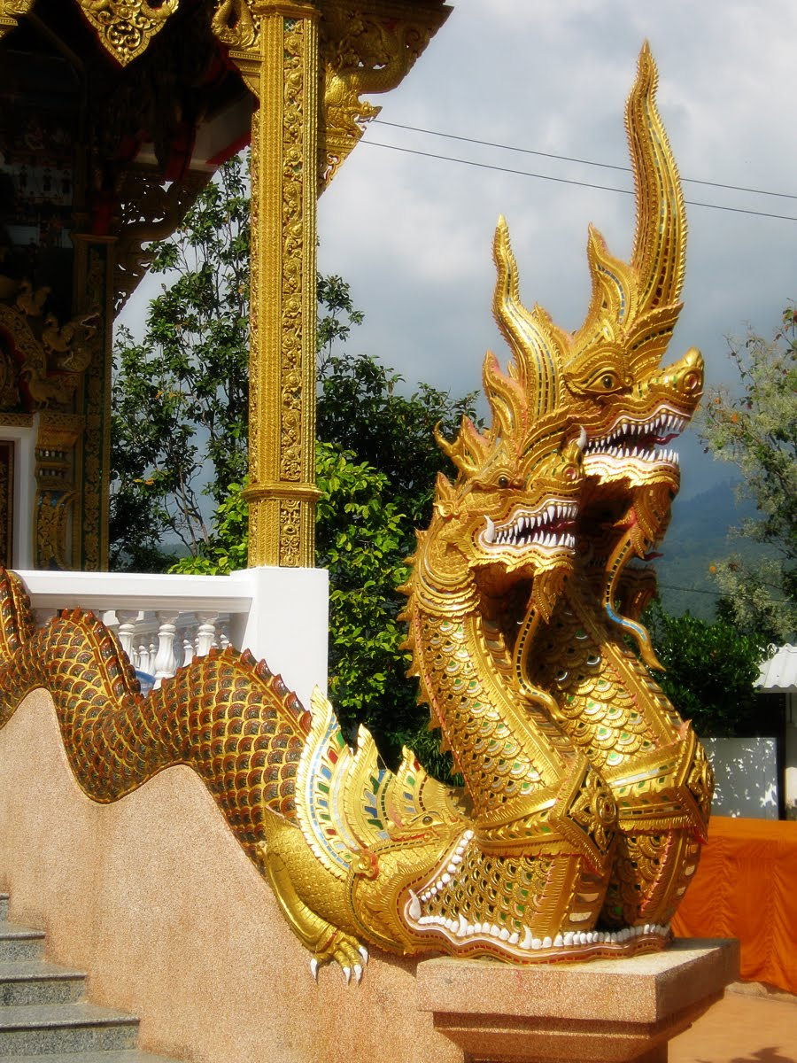 The World of Statues: Dragons (Naga) From Thailand