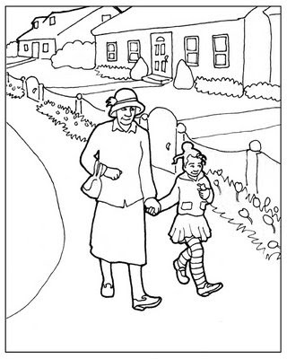 coloring pages ethnic children | Nicole Tadgell Illustration: Coloring pages for kids!