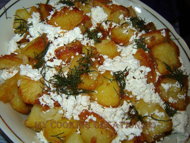 Картофи соте със сирене