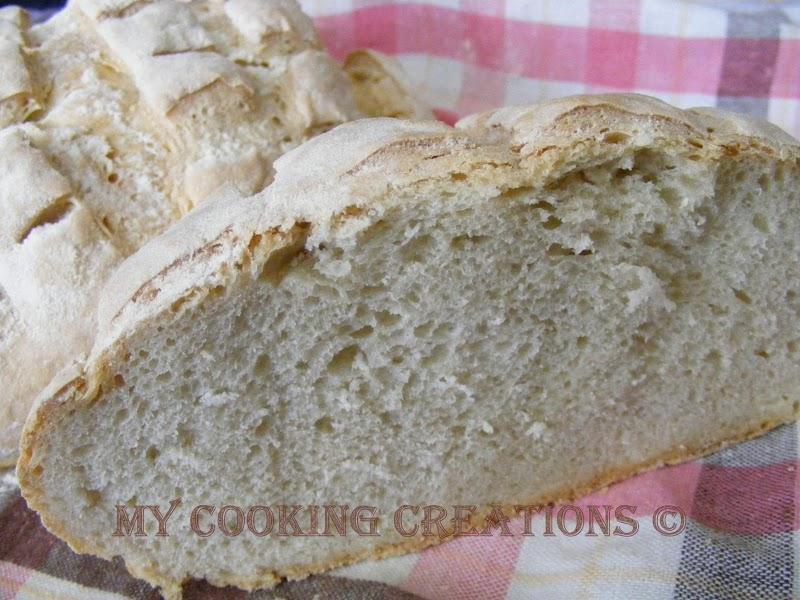 Италиански домашен хляб * Pane casalingo
