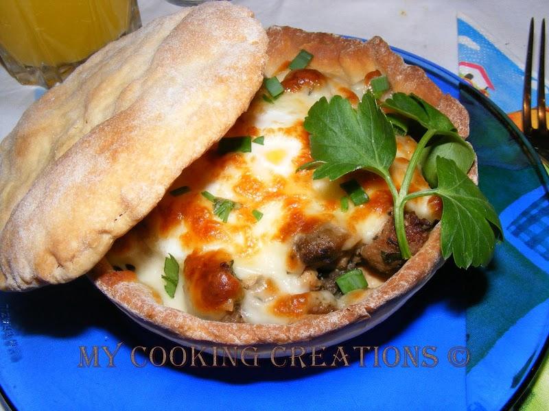 Кошнички от тесто по родопски * Cestini di pane
