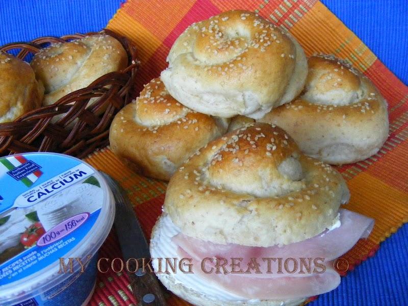 Турски навити питки * Panini turchi arrotolati