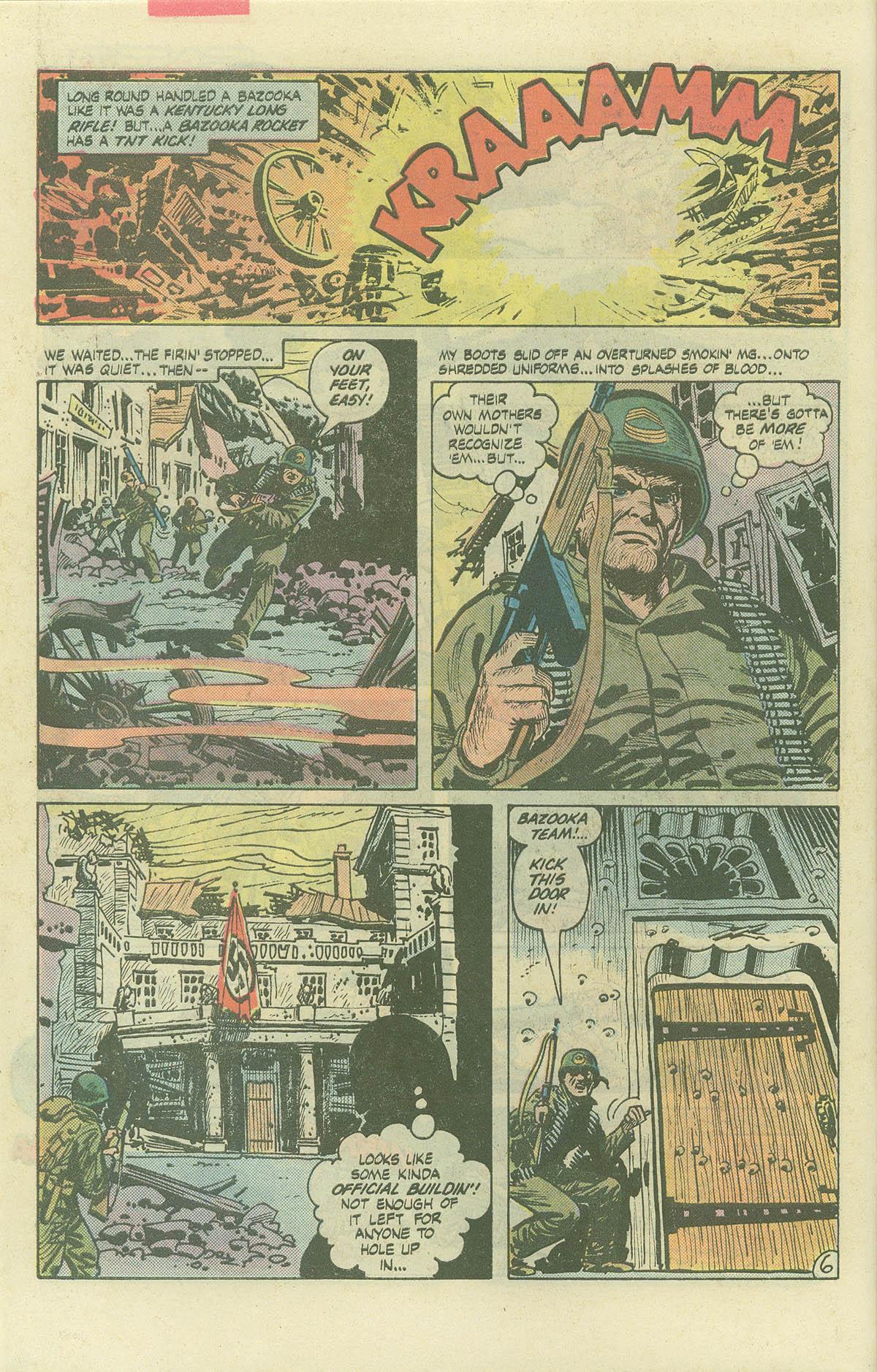 Read online Sgt. Rock comic -  Issue #382 - 9