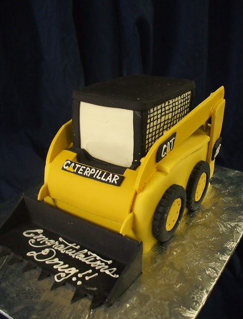 That S A Cake Cat Skid Steer