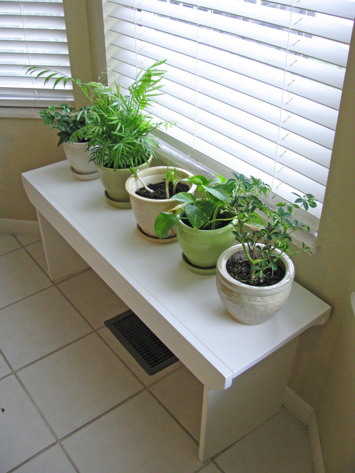 Plant Bench Indoor Delightful Dwelling A Custom Plant Bench