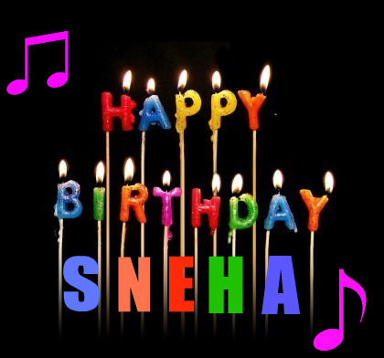 Happy Birthday Sneha