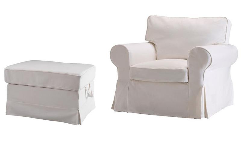 Dining Chair Slipcovers White myideasbedroomcom : IkeaWhiteChairandOttoman from myideasbedroom.com size 800 x 480 jpeg 38kB