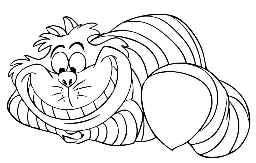 chester the cat coloring pages - photo#4