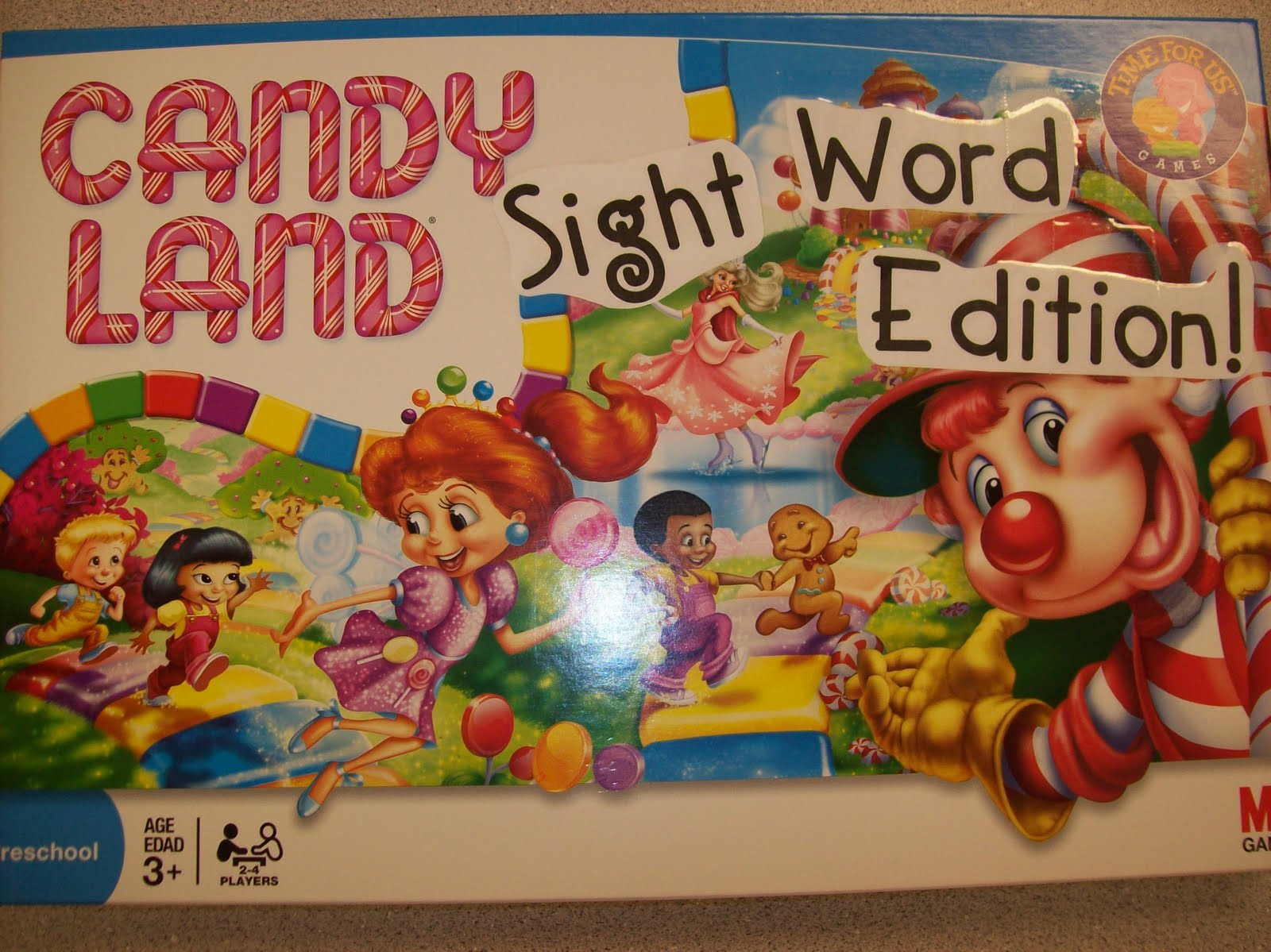 First Grader Last Candy Land Sight Word Edition