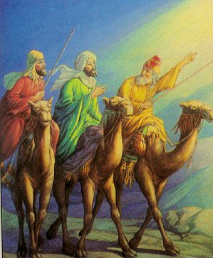 """""""Journey of the Magi"""" - Artist unknown"""