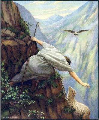 """The Parable of the Lost Sheep"" by Alfred Usher Soord"
