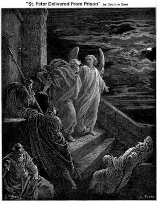 ST. Peter delivered from prison - Gustave Dore