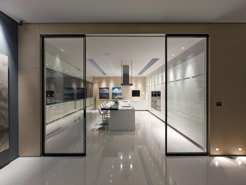 Glass Pavilion House Modern Design By Moderndesign Org