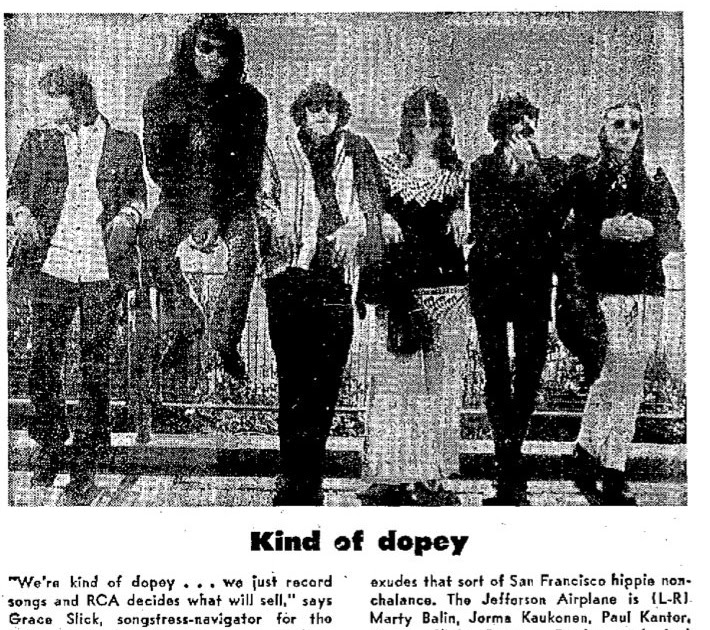 Rock Prosopography 101: July-September 1969 Jefferson Airplane