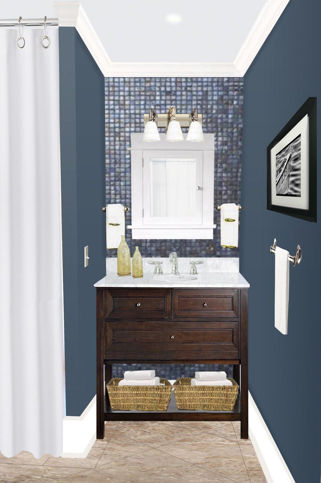 Hirondelle Rustique: Photo Consultation: Bathroom Before ...