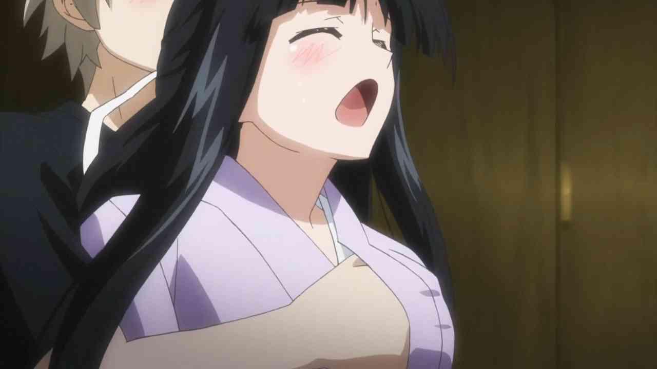 Ecchi anime scenes