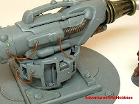 terrain mad science weapon electropulse cannon warhammer 40k 25-30 mm science fiction miniatures