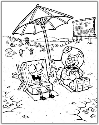 Coloring Pages: Spongebob and Friends Coloring Pages