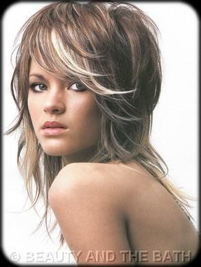 Modern Shag haircuts for Women
