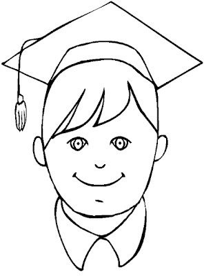 Coloring Pages: Happy Graduation Day Coloring Pages