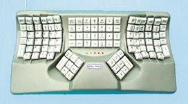 Jenis keyboard dari Segi Desain Ergonomisnya