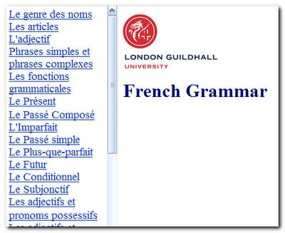 French Grammar    قواعد اللغة الفرنسية