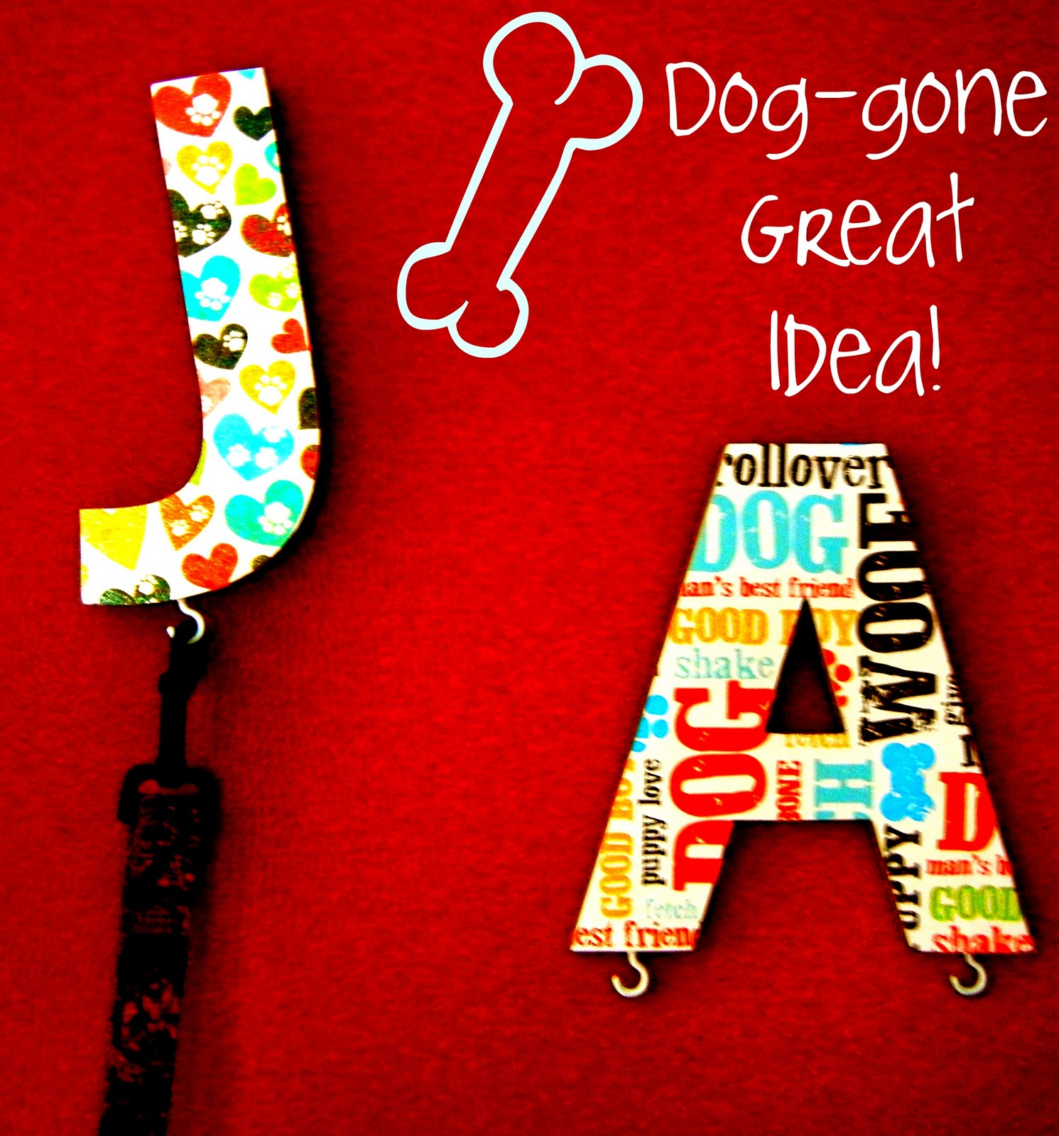 How to Make Cute Leash Hangers