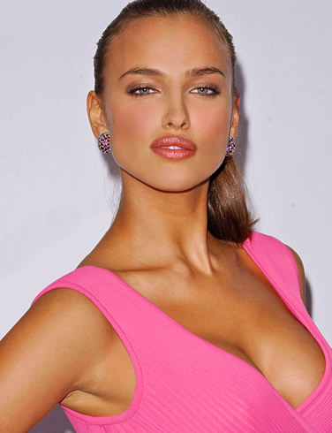 Irina Shayk is a Russian model